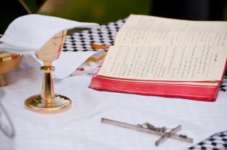 Altar in Palestine