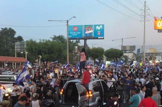 Protests in Nicaragua April 24 2018