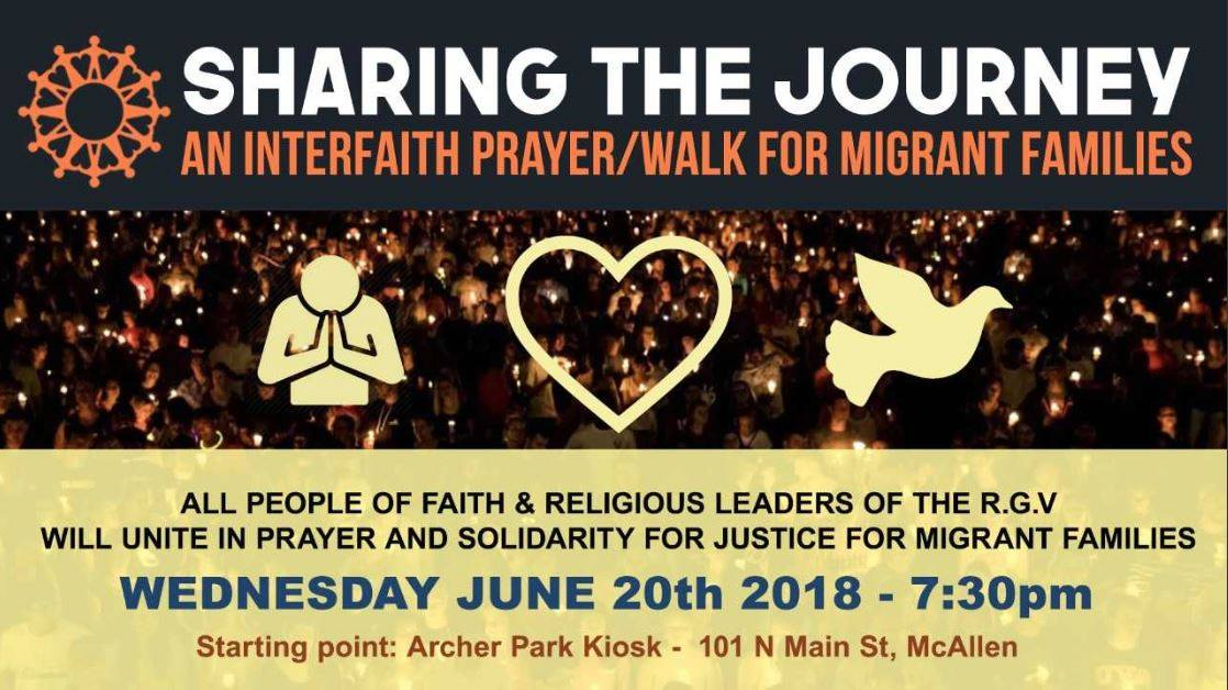 Interfaith Vigil flyer