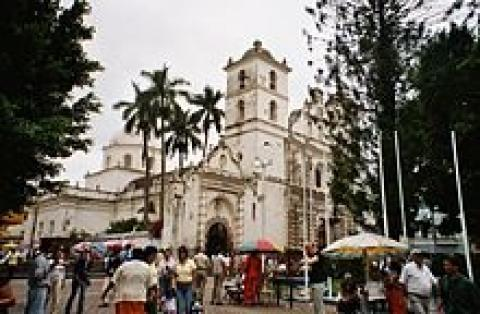 Cathedral in Tegucigalpa, Honduras