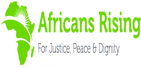 Africa Rising for Justice, Peace and Dignity logo