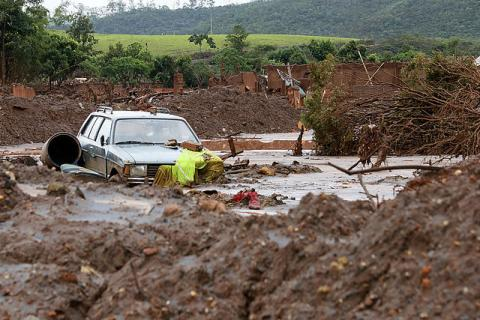 Abandoned car Brazil disaster