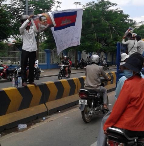 Cambodia Kem Ley funeral