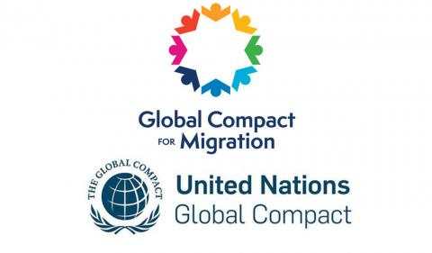 Global Compact on Migration logo