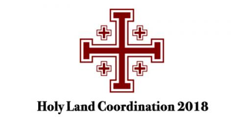 Holy Land Coordination 2018 logo