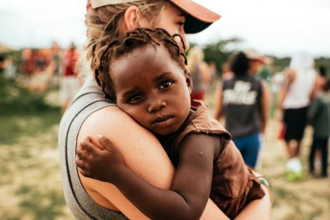 Haitian child