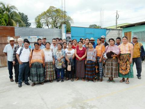 Indigenous people who met with Maryknoll Sisters