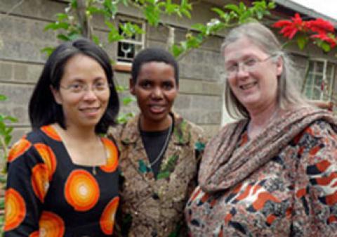 Maryknoll Sisters peace building team