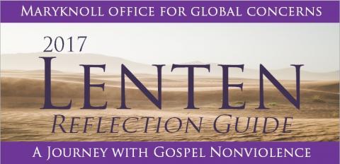 Maryknoll OGC Lenten Reflection Guide 2017 logo