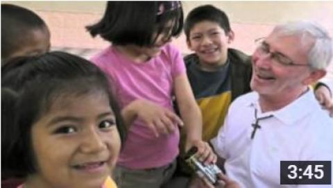 Maryknoll Father Joseph Fedora in Peru