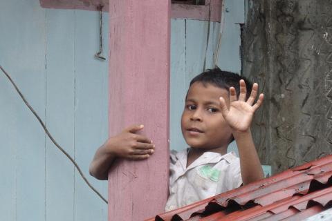 Boy in Myanmar