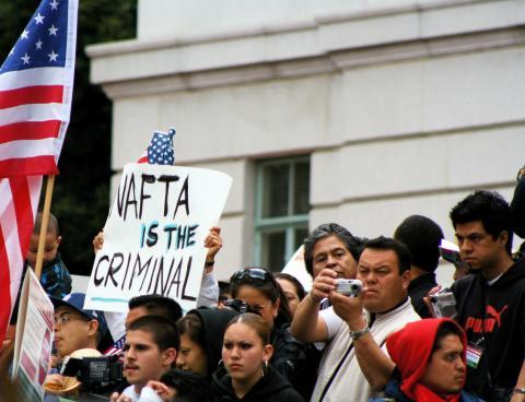 NAFTA protest 2006