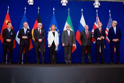 Negotiators Iran Nuclear Deal
