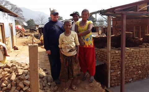 Father Joe Thaler, MM in Nepal