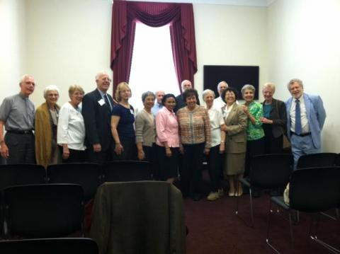Maryknoll missioners meet with Nita Lowey