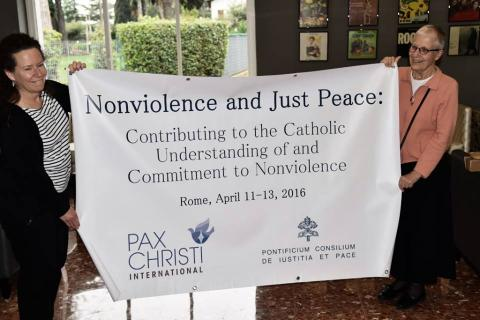 Nonviolence Just Peace Conference banner