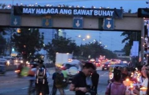 Philippines prayer vigil