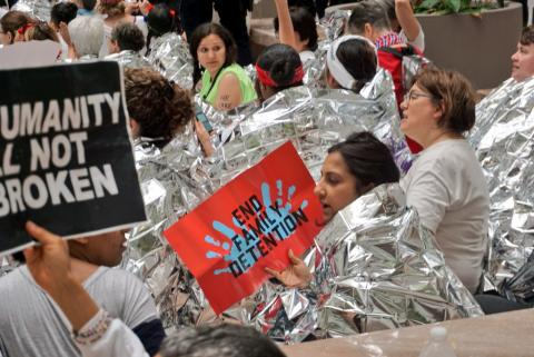 End Family Detention Women Take Action