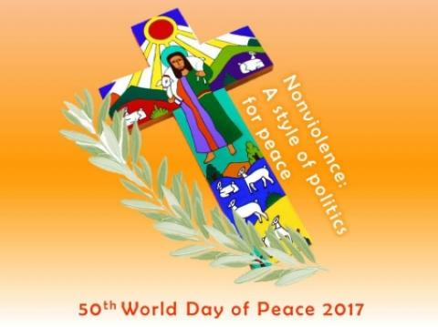 World Day of Peace 2017 logo
