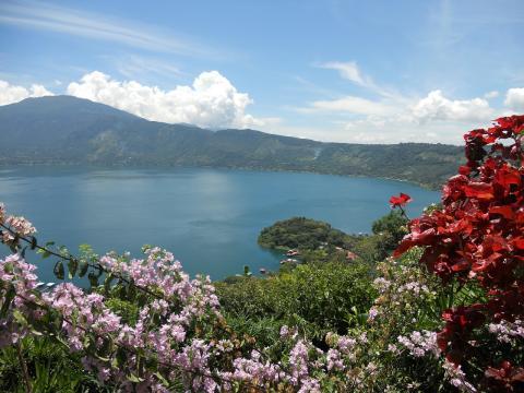 Lake Coatepeque, El Salvador