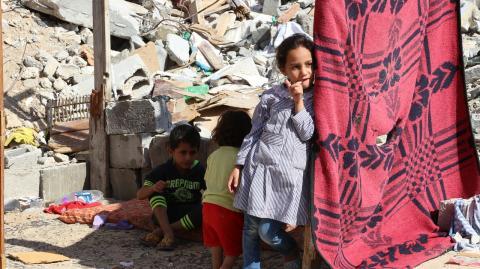 Palestinian girl 2015