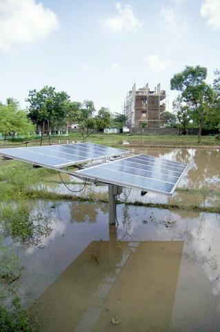 Solar panels in India