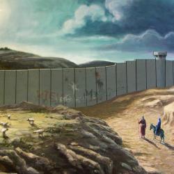 Nativity wall